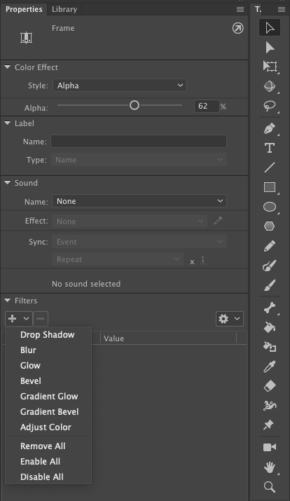 Create timeline layers with Animate