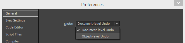 Preferences_Undo_DropDown