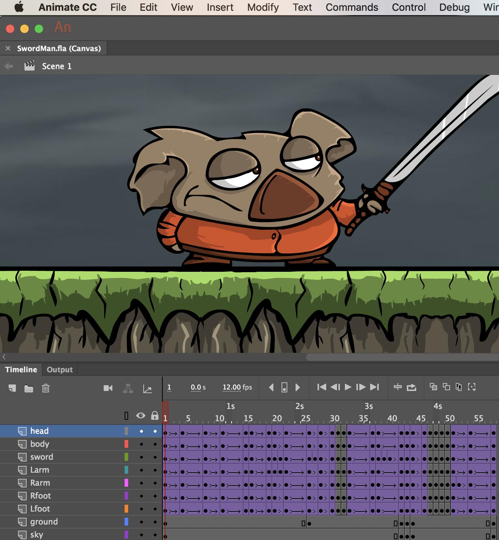 SVG in Animate CC