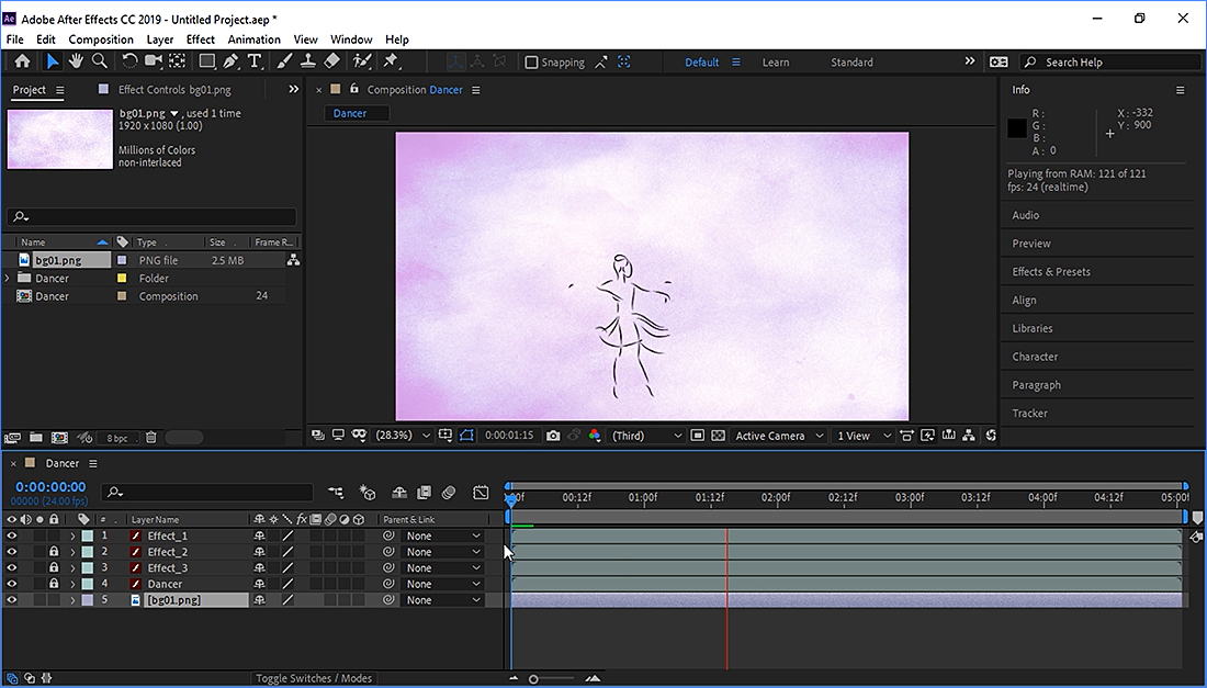 Animate and After Effects workflow