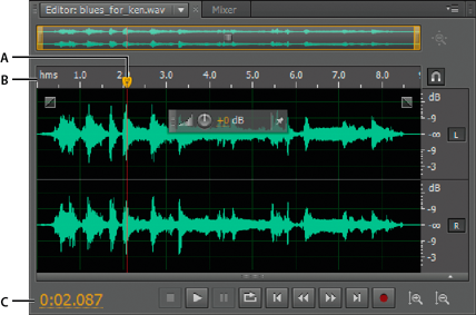 how to cut audio file in adobe audition