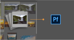 Use the publish panel in Adobe Bridge CC to upload assets to Adobe Portfolio