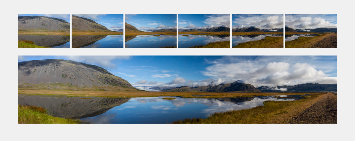 Create panoramas using Adobe Camera Raw