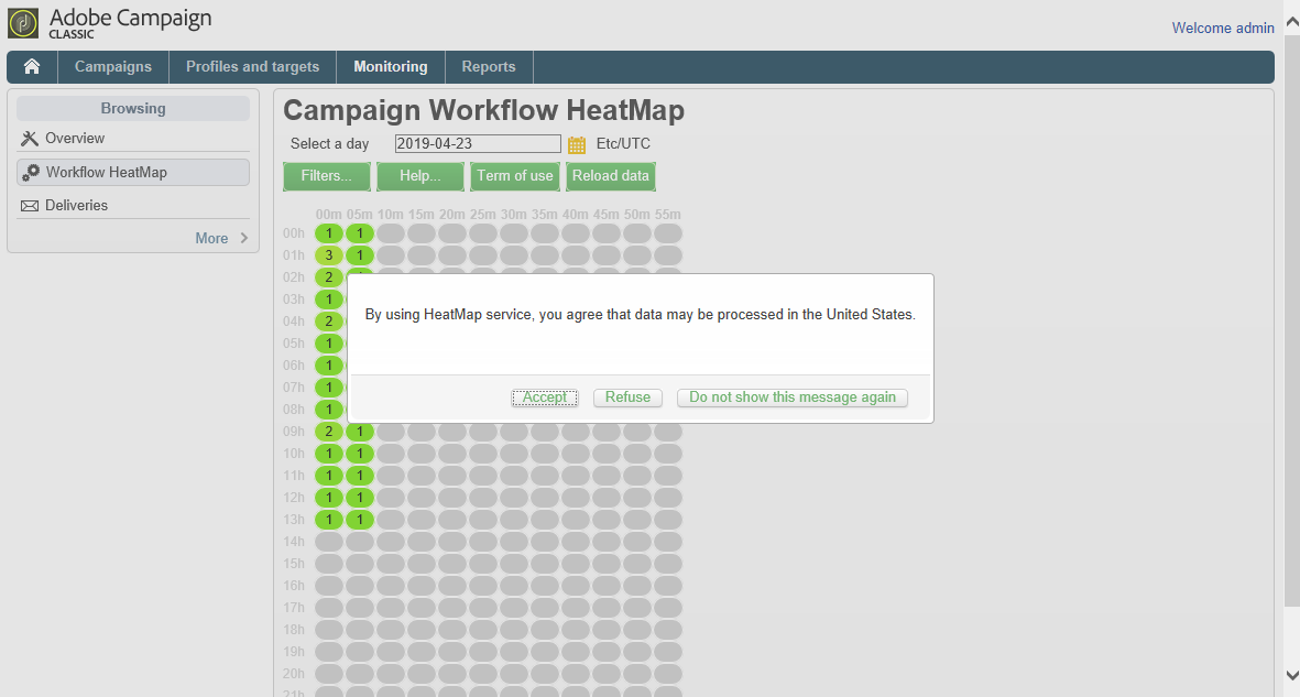 How to install the Workflow HeatMap package