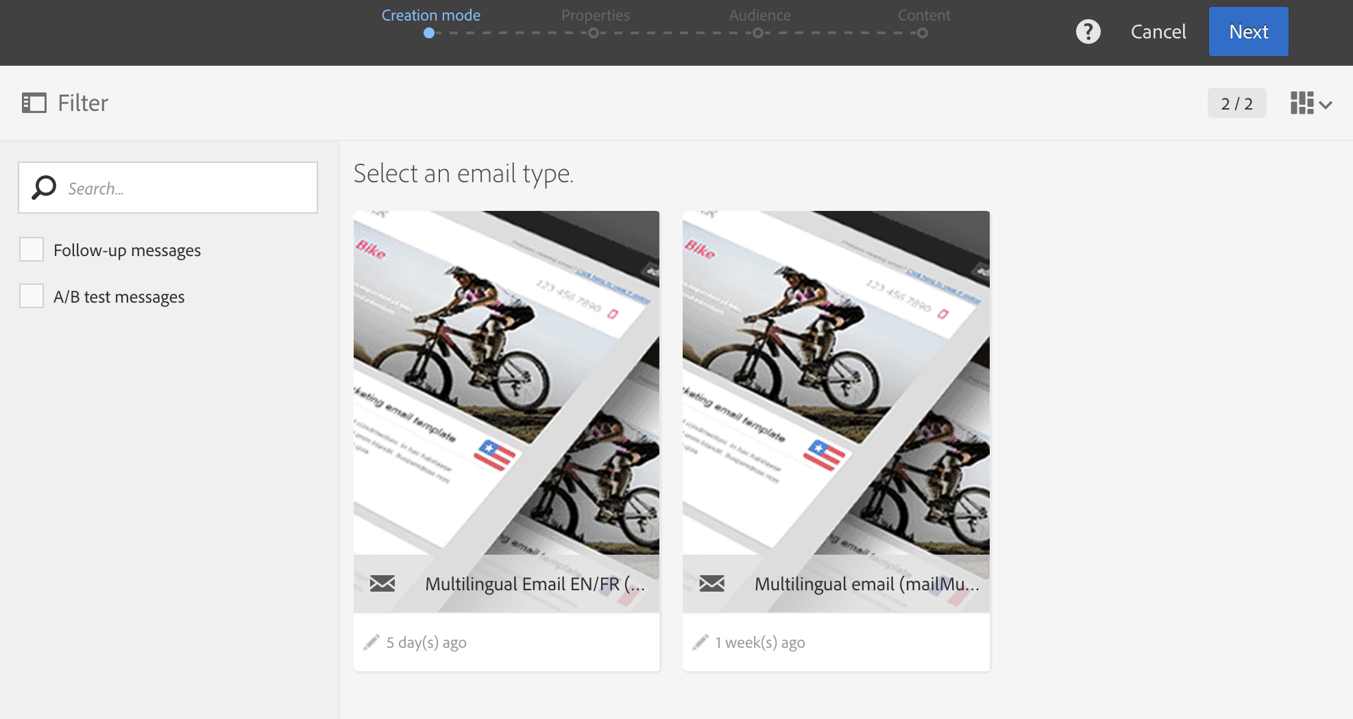 Creating A Multilingual Email
