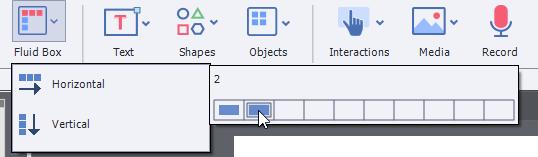 how to create horizontal submenu in html