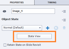 Click State View for the different states
