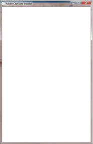 Blank screen while installing Adobe Captivate (2019 release)