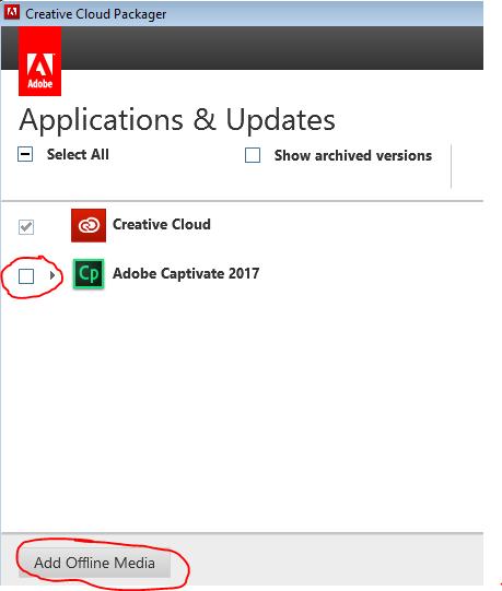 adobe creative cloud 2017 offline installer