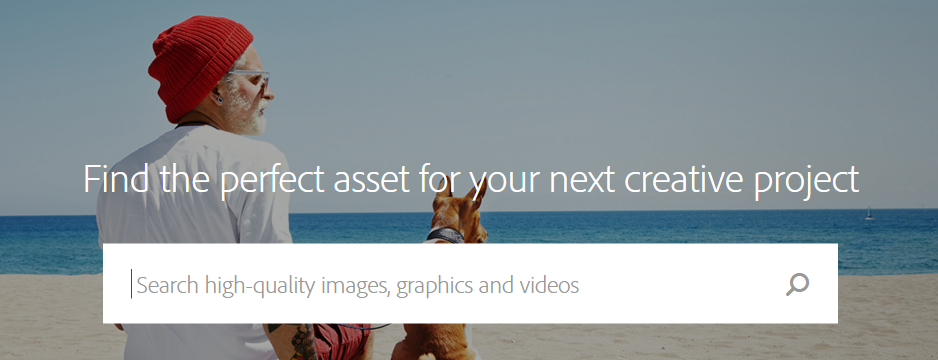 Get assets from Adobe Stock
