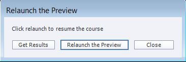 Relaunch the Preview pop-up window for LMS preview files