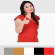 Changing the colors of the dress based on user's click action