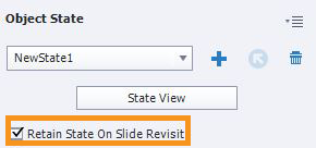 Setting Retain State on Slide Revisit