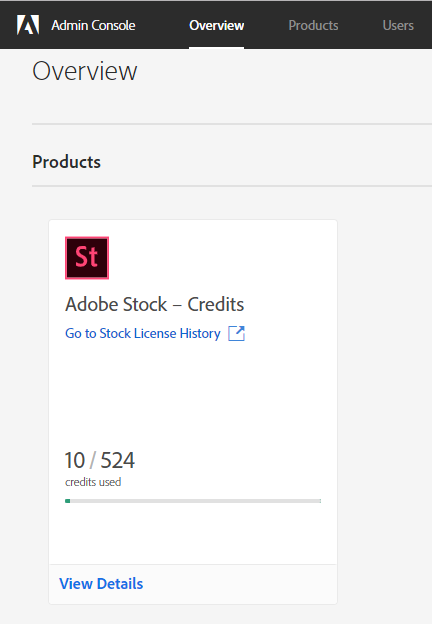Adobe Credit Packs Overview