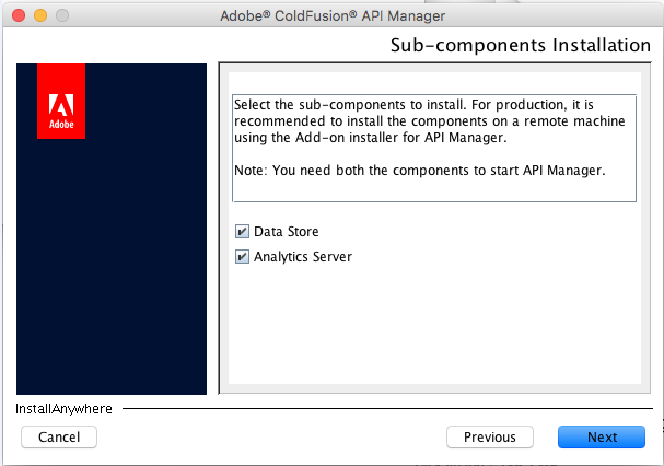 Install sub-components