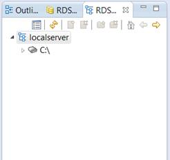 RDS Fileview panel