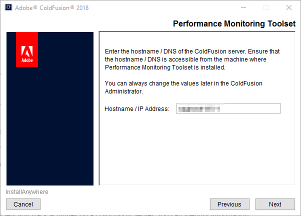Performance Monitoring Toolset