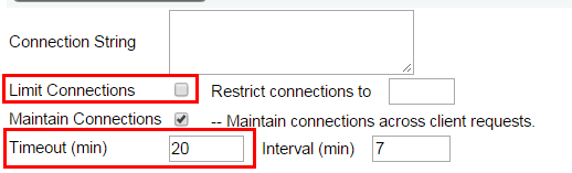 Limit Connections
