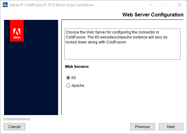 Web server configuration-IIS