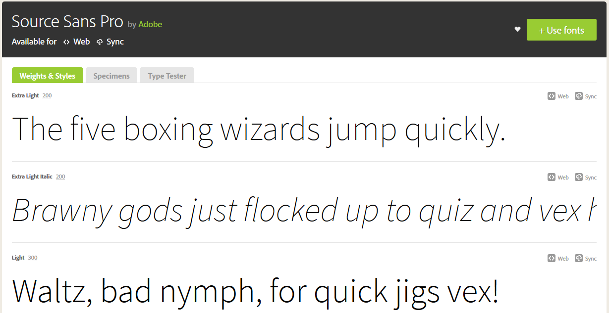 Add fonts to your desktop from typekit details of a font ccuart Image collections