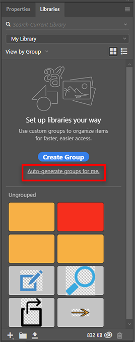 Auto generate groups