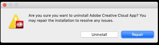 Uninstall The Adobe Creative Cloud Desktop Application