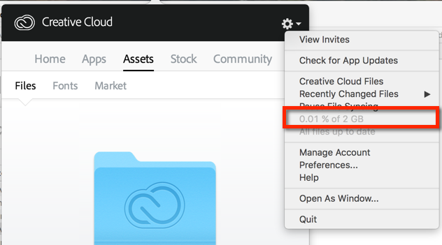 Check Storage In The Desktop