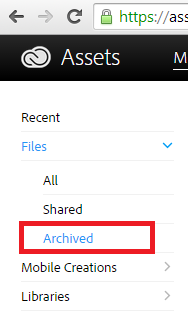 How to archive files