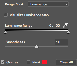 Luminance Range Mask