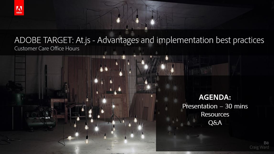 Adobe Target: At.js - Advantages and implementation best practices