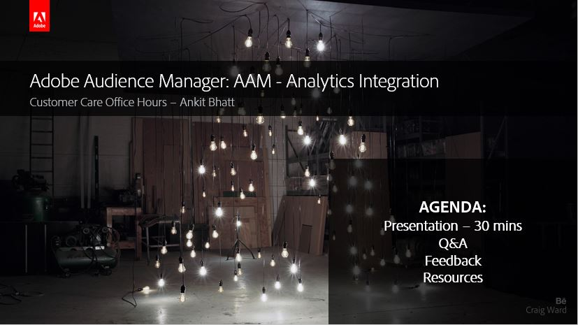 Adobe Audience Manager: AAM - Analytics Integration