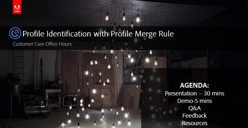 Adobe Audience Manager: Profile Identification with Profile Merge Rule