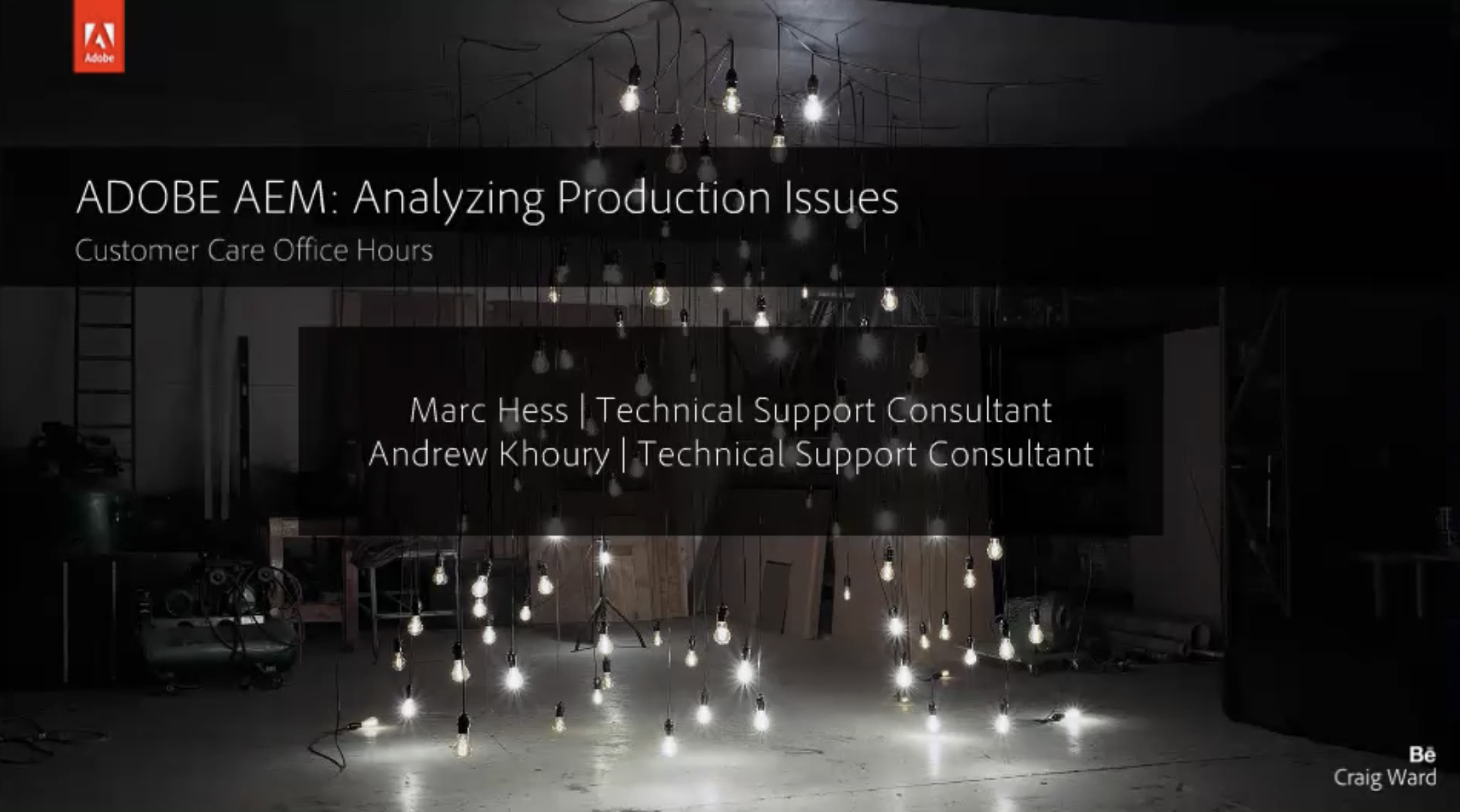 Adobe Experience Manager: Analyzing Production Issues