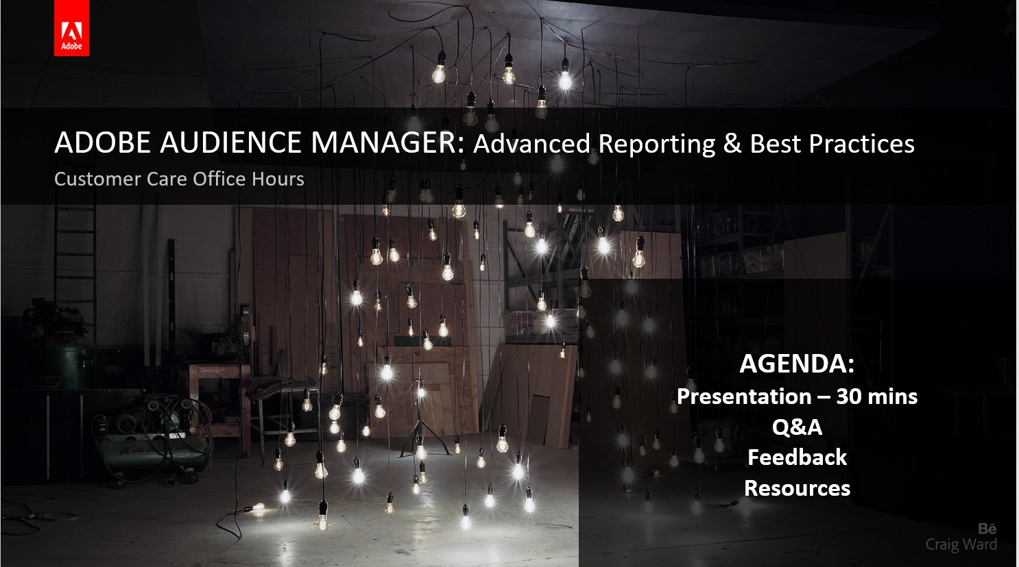 Adobe Audience Manager - Advanced Reporting and Best Practices
