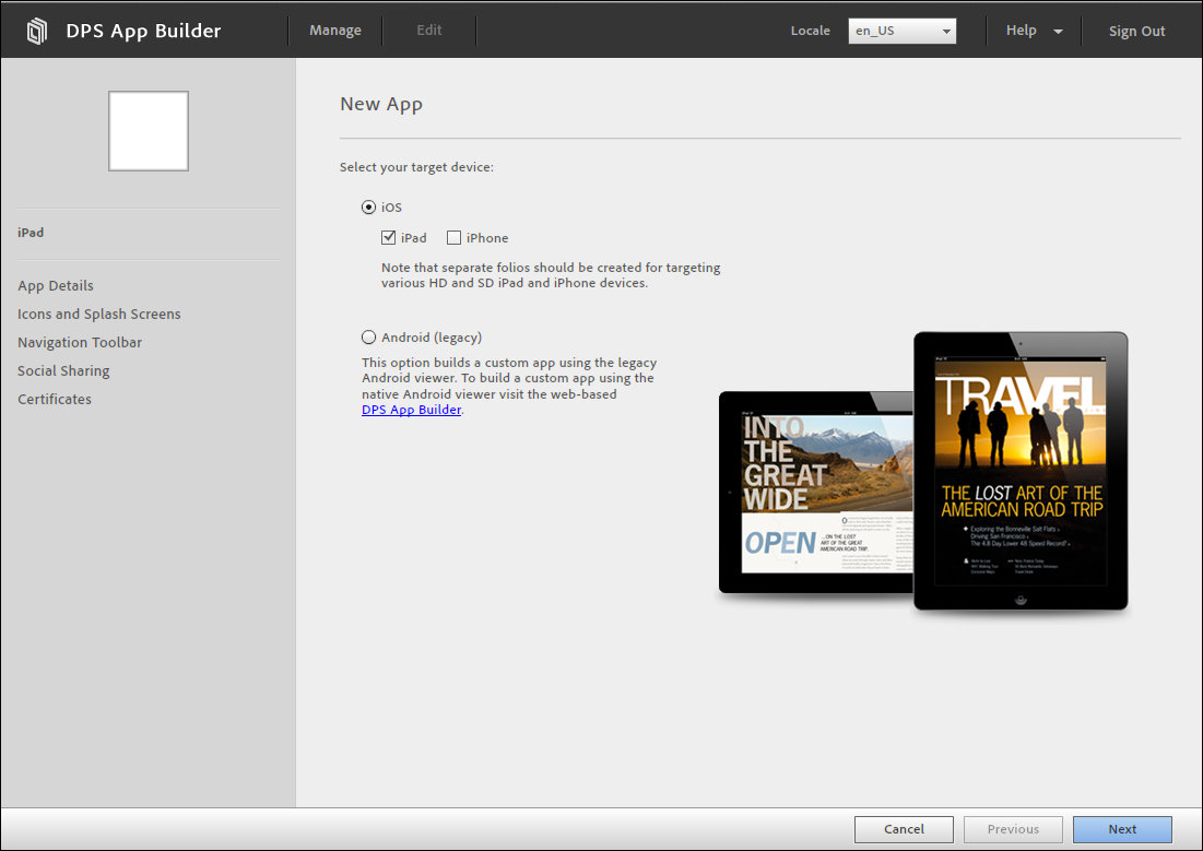 Creating DPS apps for the iPad and iPhone