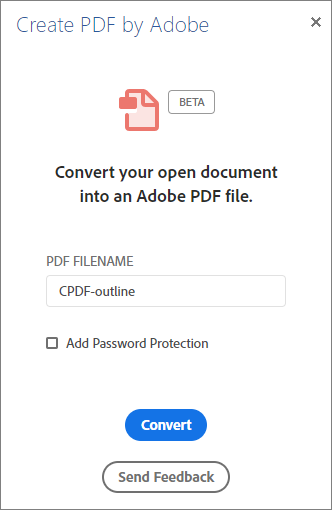Easily convert Office 365 documents to high-quality PDFs
