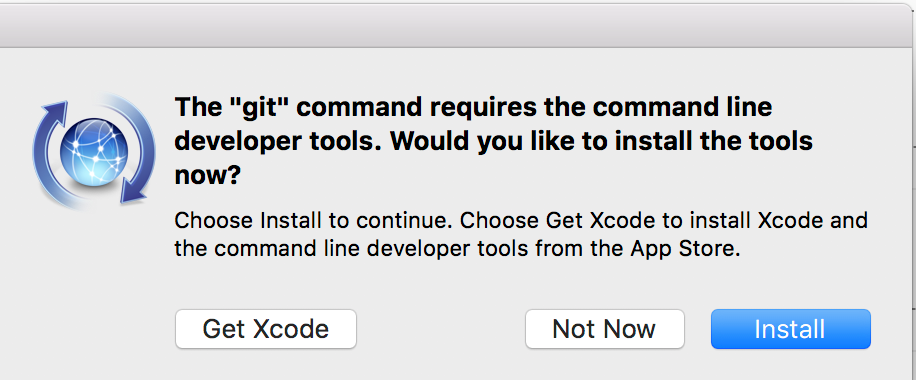Xcode command line pop-up in Dreamweaver 2017.5