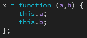 Before: Convert to arrow function
