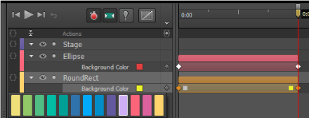Color coding of elements in Timeline