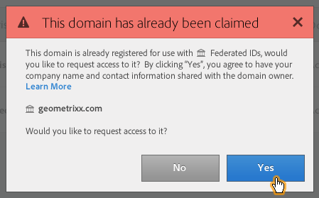 existing-domain-warn