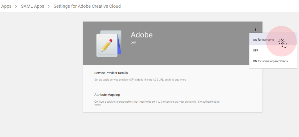 Adobe Creative Cloud 的设置