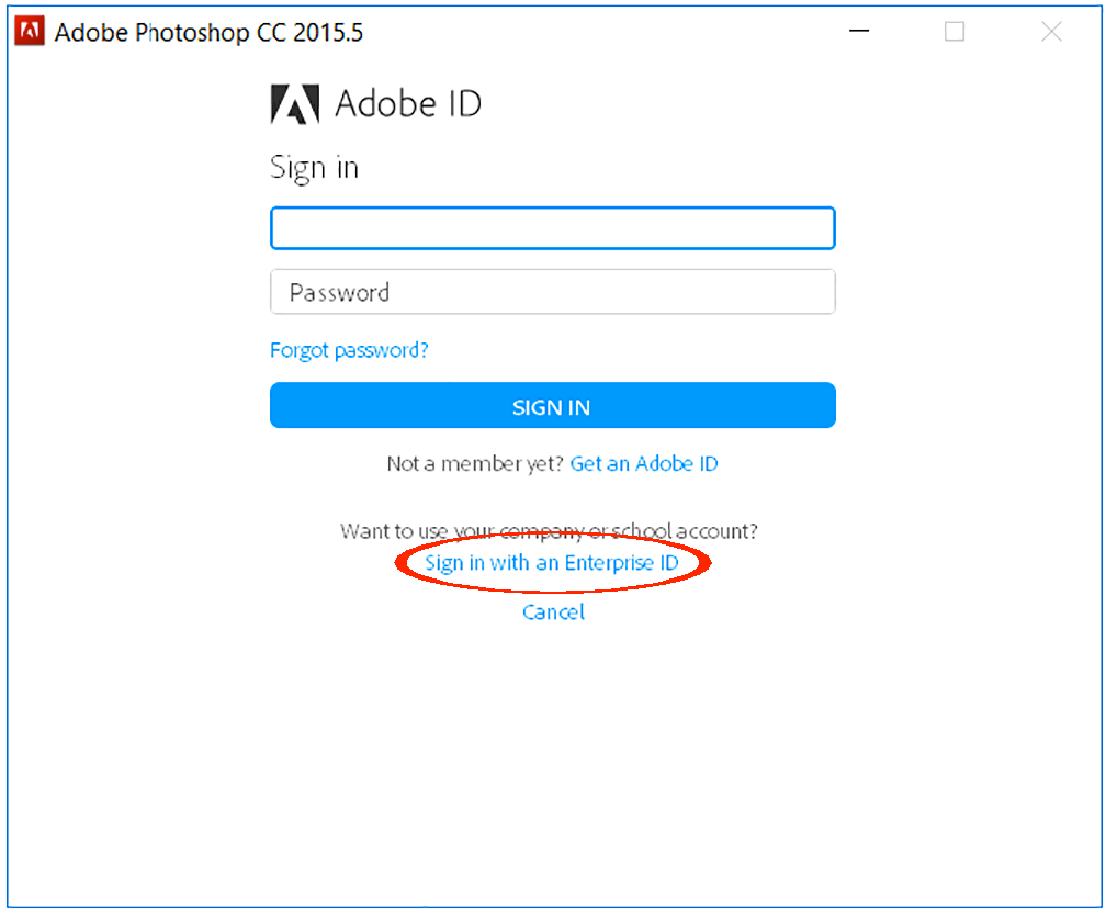 adobe creative cloud login