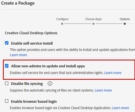 Allow non-admins to update and install apps