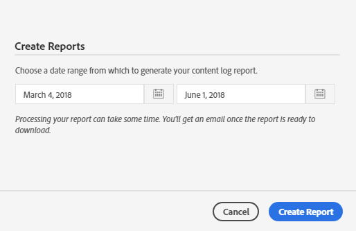 Create Reports