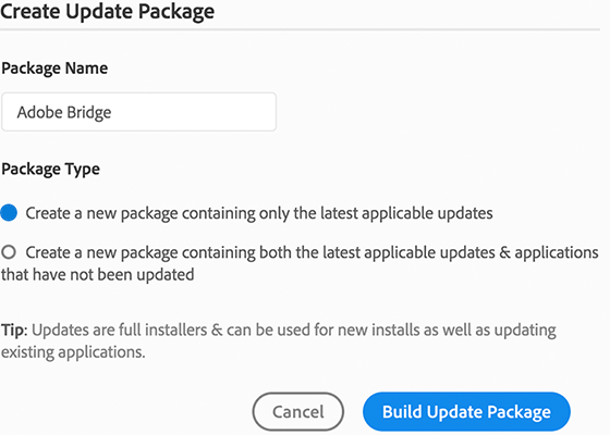 create-update-package-dialog
