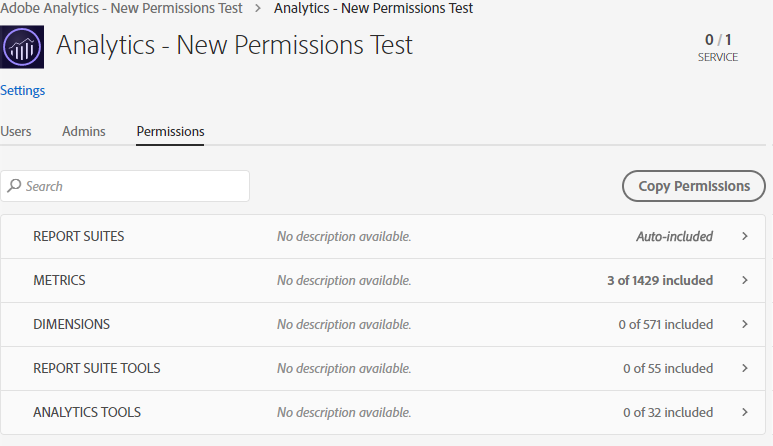 Permissions auto-included