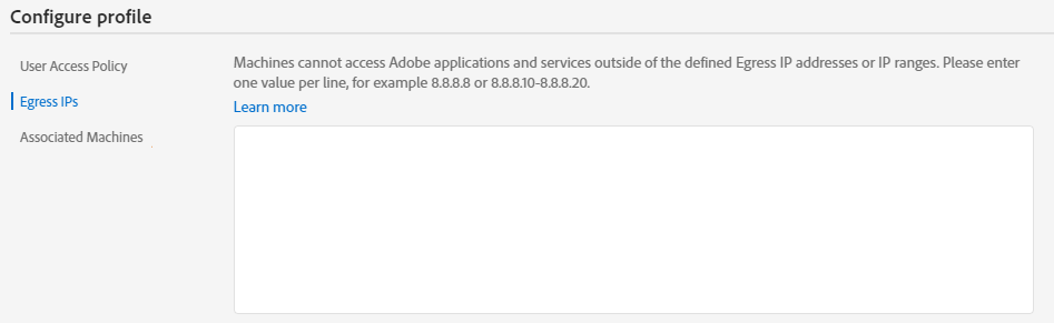 Manage shared device license profiles