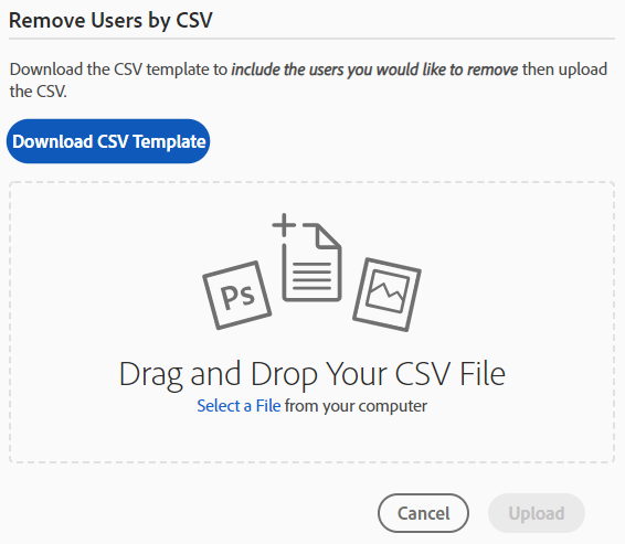 Remove Users by CSV