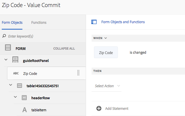 Pre-configure a web service in rule editor to populate form objects