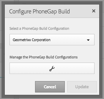 Configure PhoneGap Build